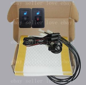 Auto Seat Heater Universal 5 gear Switch heated Seat Fit All 12v Cars trucks