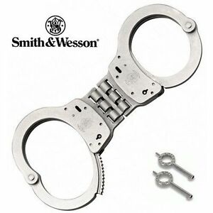 Smith Wesson Police Model 300 Hinged S w Handcuffs 350096