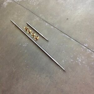 Acme Leadscrew Set X Y axis W brass Feed Nuts 9x49 Knee Mill
