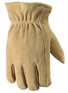 Wells Lamont 1091xl Insulated Deerskin Suede Leather Work Gloves Extra Large N