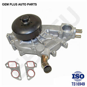 New Water Pump Fit Chevy Silverado Cadillac Gmc Sierra Isuzu Vortec 4 8l 5 3 6 0