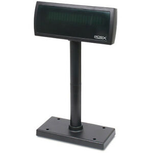 Pos x Xp8200 Customer Pole Display Usb Black Pcamerica Amigopos Maidpos New