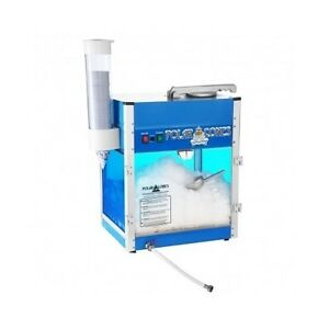 Commercial Snow Cone Machine Maker Ice Shaver Frozen Treat Catering Carnival New