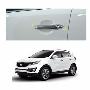 Chrome Handle Door Catch Molding Cover Garnish For Kia Sportage R 2012 2016