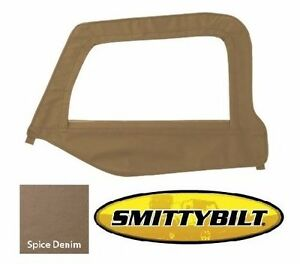 Smittybilt Drivers Upper Door Skin Frame For 1997 2006 Jeep Wrangler Tj Lj