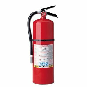 Kidde 466204 Pro 10 Mp Fire Extinguisher Ul Rated 4 a 60 b c Red New Free S