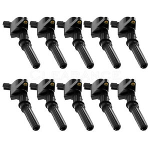 New Ignition Coil Set 10 Pack For Ford Lincoln Mercury Dg508 C1454 High Quality