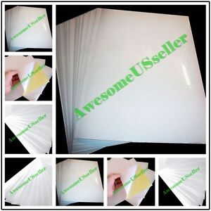 A4 White Glossy Self adhesive Sticker Sticky New Tags Label Printing Paper Laser