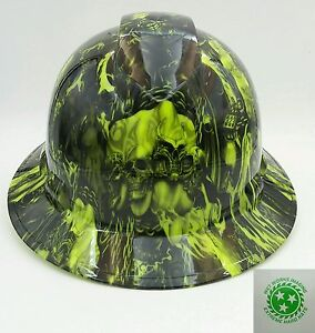 Hard Hat Full Brim Custom Hydro Dipped Osha Approved Way Of The Fist New