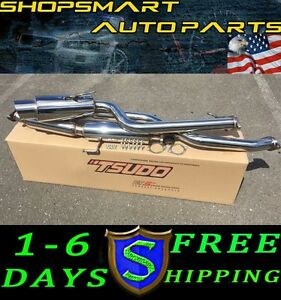 Scion Tc 2014 Tsudo S2 Performance Catback Exhaust Slanted Muffler