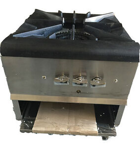 Stainless Steel Stock Pot Range Stove