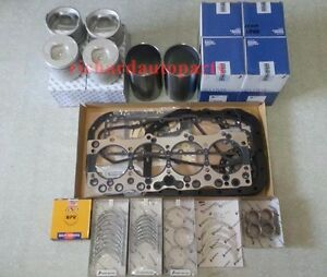 Heavy Duty Engine Rebuild Kit For Isuzu 4be1 Nkr Npr Hitachi Sumitomo