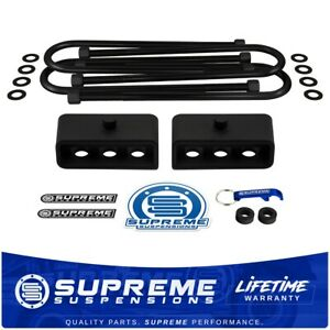 03 13 Dodge Ram 2500 3500 2 Rear Lift Blocks Leveling Kit W Overloads U bolts