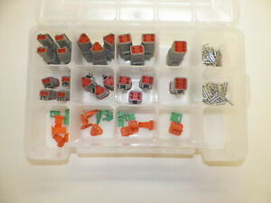 116 Pc Oem Gray Deutsch Dt Connector Kit Solid Terminals From 4rcustoms
