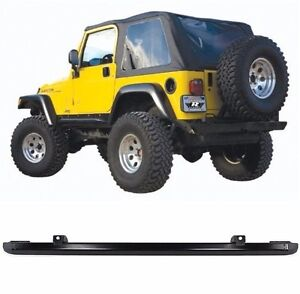 Rampage Frameless Tinted Soft Top Header Channel For 97 06 Jeep Wrangler Tj