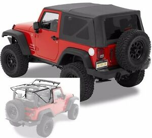 Bestop Supertop Nx Soft Top Kit W Frame Hardware 07 18 2dr Jeep Wrangler Jk