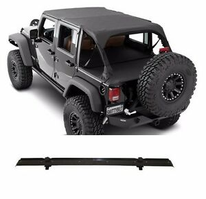 Smittybilt Extended Top header Channel Set For 2007 2009 4 door Jeep Wrangler Jk
