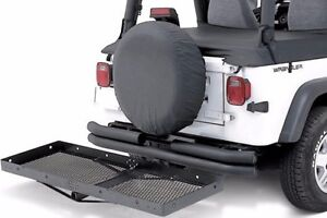 Smittybilt Heavy Duty 20 X 60 Receiver Mounted Rack For 2 Receivers 7700