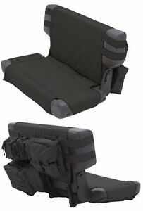 Smittybilt Gear Molle Rear Seat Cover With 5 Pouches For 76 06 Jeep Cj Wrangler