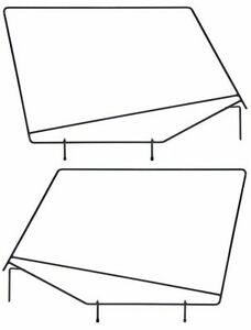 Rampage Soft Upper Door Window Frame Set 1987 1995 Jeep Wrangler Yj 89699