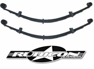 Rubicon Express Extreme Duty Leaf Springs Bushings 3 5 For 1984 2001 Jeep Xj