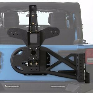 Smittybilt Xrc Gen2 Oversized Tire Carrier For 2007 2018 Jeep Wrangler Jk 76857