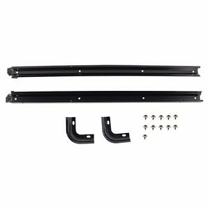 Rampage Replacement Rear Tub Rail Kit 1987 1995 Jeep Wrangler Yj 69997