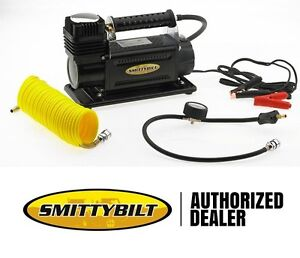 Smittybilt High Performance 5 65 Cfm Air Compressor W Hose And Storage Bag 2781