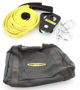 Smittybilt Atv Utv Recovery And Winch Accessory Kit With Storage Bag 2729