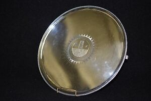 18th Century English Sterling Silver Table Tray By Carter Smith