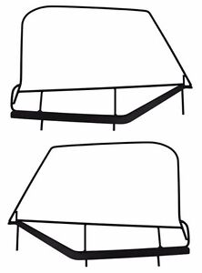 Rampage Soft Upper Door Window Frame Set 1997 2006 Jeep Wrangler Tj Lj 89799