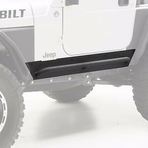 Smittybilt Xrc Armor Rock Sliders With Built In Step For 97 06 Jeep Wrangler Tj