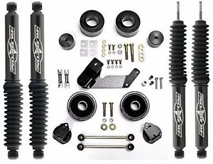 Rubicon Express 2 5 Lift Leveling Kit Twin Tube Shocks 07 17 Jeep Wrangler Jk