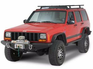 Smittybilt Xrc Front D Ring Winch Bumper For 1984 2001 Jeep Cherokee Xj 76810