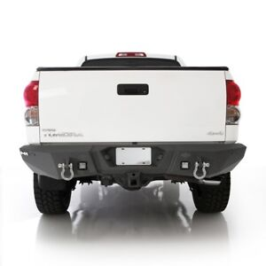 Smittybilt M 1 Rear D ring Bumper With Led Lights For 2007 2013 Toyota Tundra