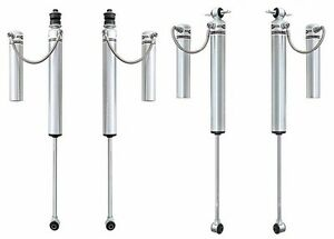 Rubicon Express 4 5 5 5 Front Rear Reservoir Shocks 07 18 Jeep Wrangler Jk