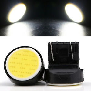 100pcs Car Tail Stop Brake Light T20 7443 Cob 18smd Led Turn Reverse Bulb White