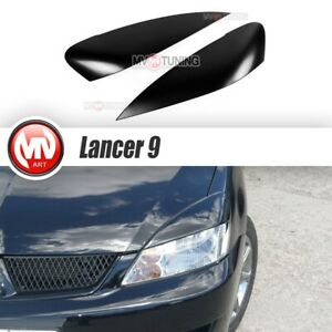 Front Eyelids Eyebrows Headlights Wide Covers For Mitsubishi Lancer Ix 9 Cedia
