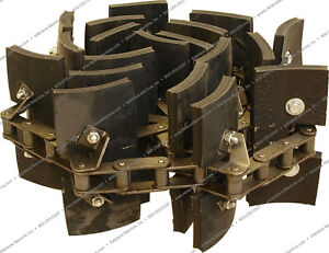 782440 Clean Grain Elevator Chain For New Holland Tr86 Tr87 Tr89 Combines