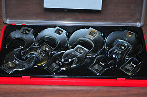 Crow Foot Wrench 11 Pieces 3 8 Drive Sae Size 3 8 To 1 Inch Crowfoot Set