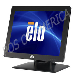 Elo 1715l 17 Lcd Pos Restaurant Touch Monitor Intellitouch Black For Aldelo New