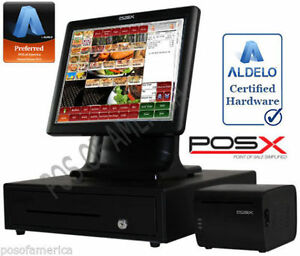 Aldelo Pro Pos x Bar Grill Restaurant All in one Complete Pos System New