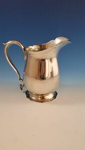 Sterling Silver Water Pitcher By Frank M Whiting Gorgeous Scalloped Design