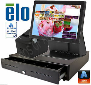 Aldelo Pro Elo Ice cream Yogurt Shop All in one Complete Pos System Bundle New