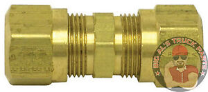 Tectran Tube Union Compression Fitting 1 4 10 Pack 62 4