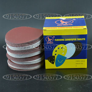 100pcs 4inch(100mm) 1200Grit Sander Disc Sanding Pad Polishing Pad Sandpaper