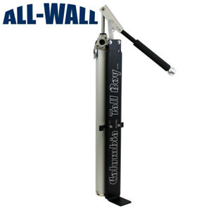 Columbia tall Boy Drywall Mud Compound Loading Pump No More Bending