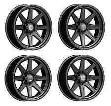 4 16x8 Mickey Thompson Deegan 38 Pro 2 Black Wheels Set 16 5x5 Jeep Classic