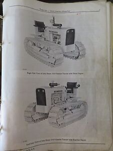John Deere Pc727 1010 Series Crawler Parts Manual Book Catalog