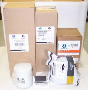 New Holland T1510 T1520 Hydro Compact Tractor Filter Service Kit